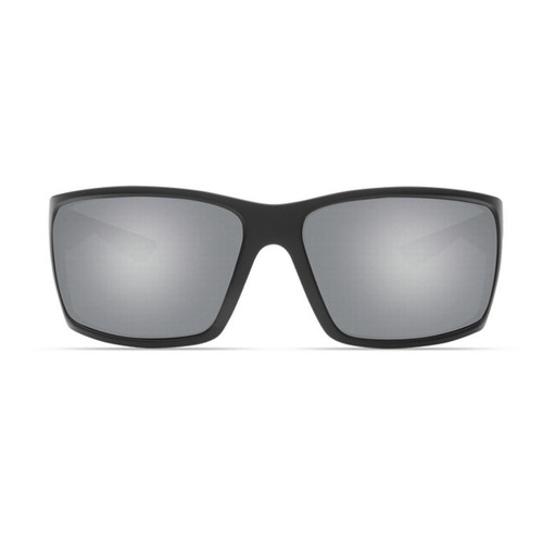 Costa Del Mar Reefton Sunglasses RFT-197-OSGGLP Race Black Gray Silver Mirror 580G Polarized Lens