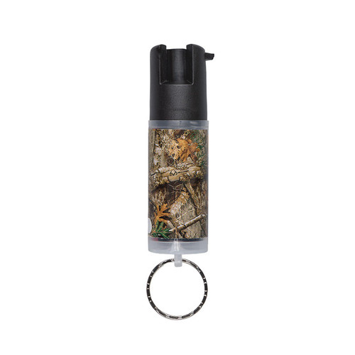 Realtree Edge Camouflage Pepper Spray with Key Ring