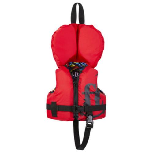 Full Throttle Infant Nylon Life Jacket Red