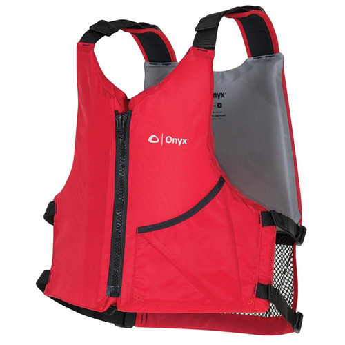 Onyx Adult Universal Paddle Vest Red