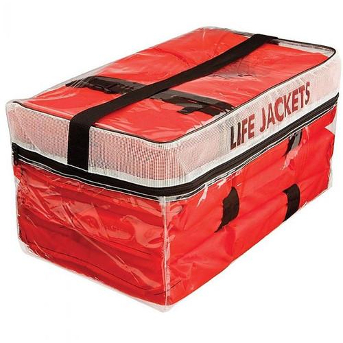 Kent Type II Adult Life Jacket Four Pack w/Storage Bag