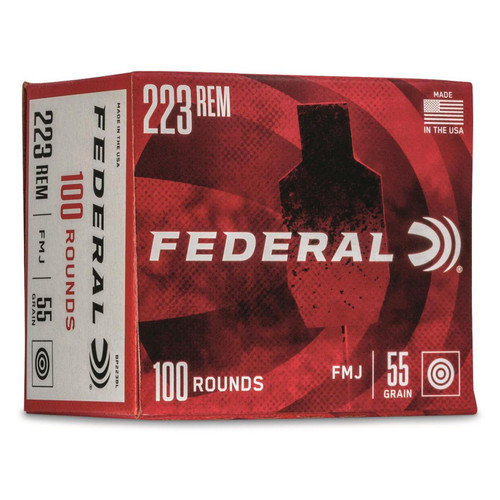 Federal American Eagle .223 Remington 55GR FMJ 100 Rounds