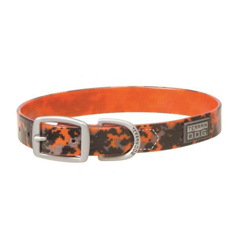"TERRAIN D.O.G. 07-3162-OR-23 1X23"" Brahma Collar Camo Orange"