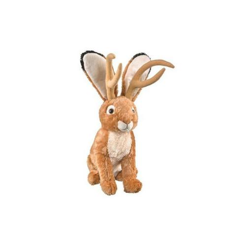 """Wildlife Artists Jackalope Plush Toy 16"""" H"""