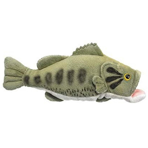 Wildlife Artists Conservation Critters Large Mouth Bass Stuffed Animal #CCR-1680BLM