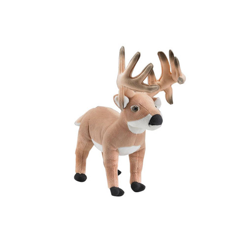 WILDLIFE ARTISTS DEER BUCK STUFFED ANIMAL