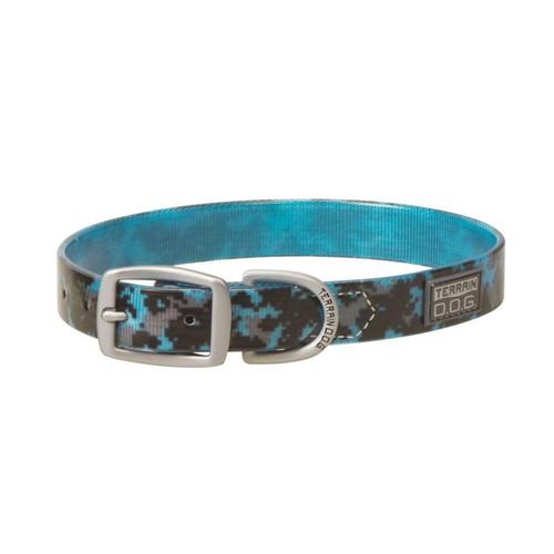 "TERRAIN D.O.G. 07-3162-BL-21 1X21"" Brahma Collar Camo Blue"