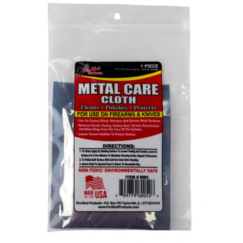 PROSHOT MCC Metal Care Cloth Cotton Flannel