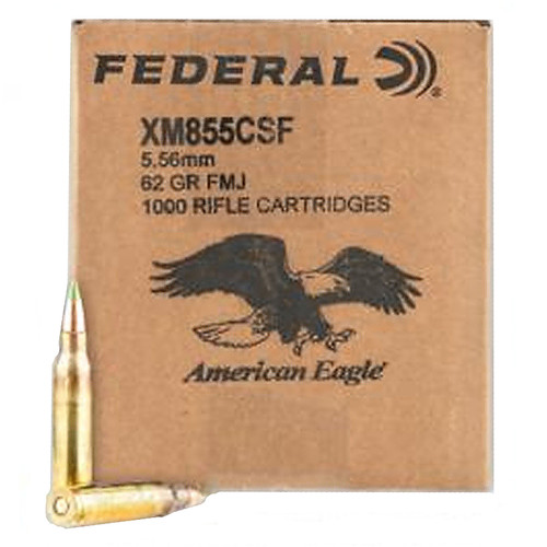 Federal American Eagle 5.56mm Nato 62GR Penetrator 1000 Rounds