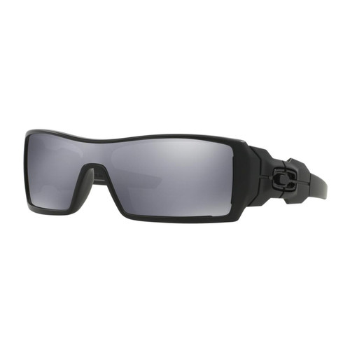 Oakley 03-464 Oil Rig Matte Black with Black Iridium