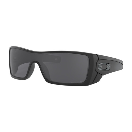 Oakley OO9101-5827 Batwolf Polarized Black with Prizm Sapphiree Sunglasses
