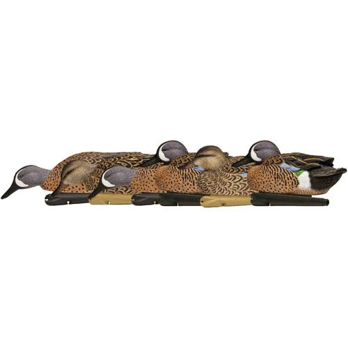 Avian-X Top Flight Blue Winged Teal Duck Decoys 6PK AVX8080