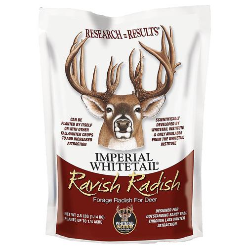 Whitetail Institute Imperial Ravish Radish Food Plot Seed 2.5 lb