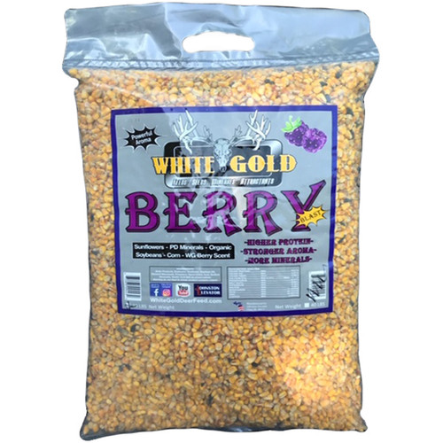 White Gold Berry Blast 20 lbs Mineral Supplement