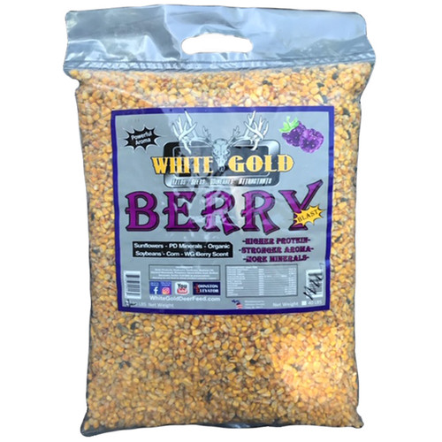 White Gold Berry Blast 40 lbs Mineral Supplement