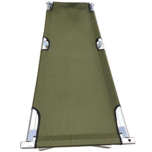 Coleman Delux Trailhead Footlocking Cot Green