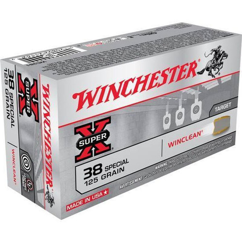 Winchester .38 Special 125GR JSP 50 Rounds
