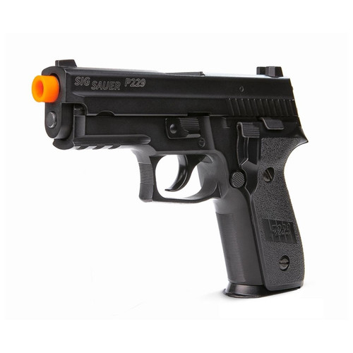 Sig Sauer Proforce P229 Green Gas Airsoft Pistol - Black