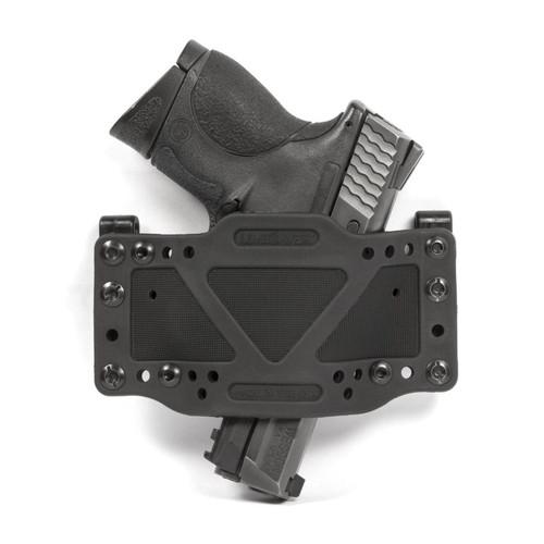 Limbsaver 12501 CrossTech Clip-On Universal Handgun Polymer Black Holster