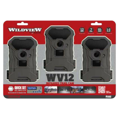 Wildview Wv12 Infrared Trail Cam 3 Pack
