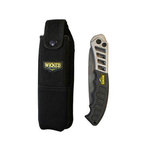 Wicked Tree Gear Wicked Tough Hand Saw and Lightweight Sheath Combo
