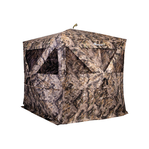 Ameristep Pro Series Thermal Hub Ground Blind Mossy Oak Elements Terra