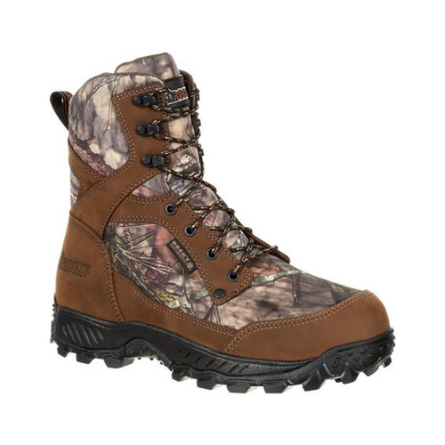 Rocky Ridge Top RKS0385 Men's 8 Inch 400G Insulated Waterproof Camo Hiker Boots