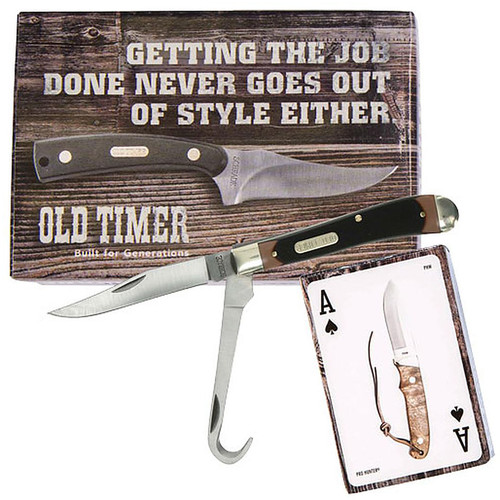 Old Timer Knife Trapper & Custom Cards Promo