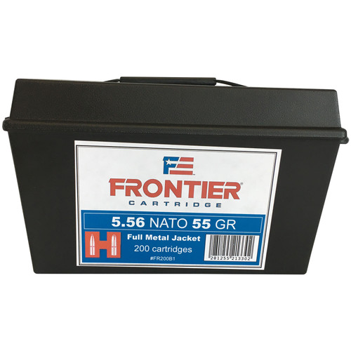 Frontier 5.56 Nato 55GR FMJ 200 Rounds