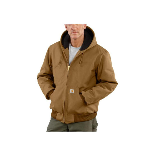 Carhartt Men's Duck Active Jackets - Quilted Flannel Lined J140