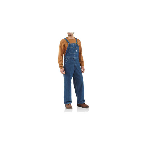 Carhartt Men's Washed Denim Bib Overall R07