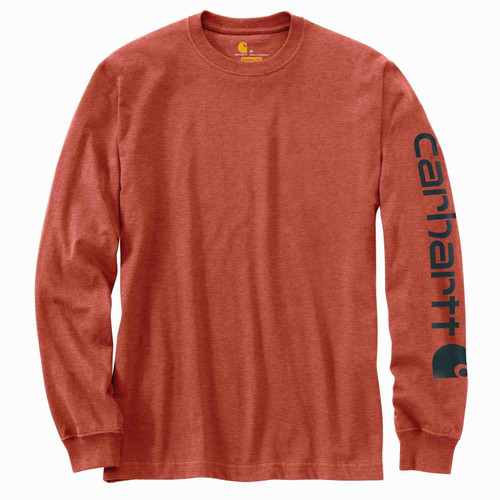 Carhartt Men's Workwear Long-Sleeve Graphic Logo T-Shirts K231