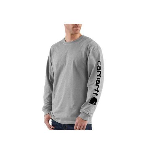 Carhartt Men's Workwear Long-Sleeve Graphic Logo T-Shirts K231