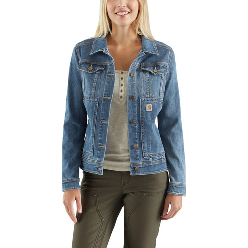 Carhartt Women's Benson Denim Jackets 102970