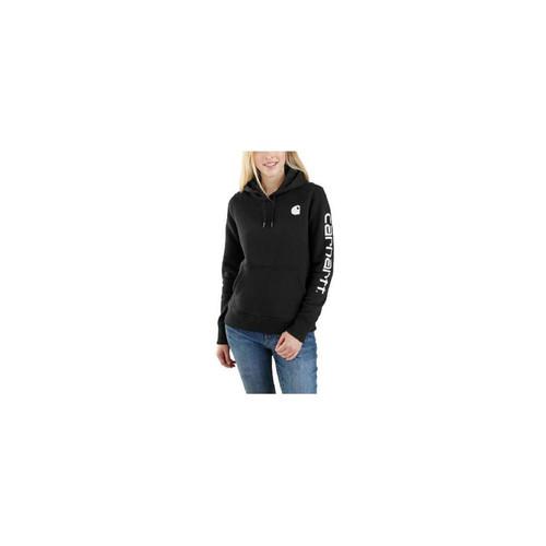 Carhartt Women's Clarksburg Sleeve Logo Hooded Sweatshirts 102791