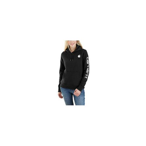Carhartt Women's Clarksburg Sleeve Logo Hooded Sweatshirts 102791