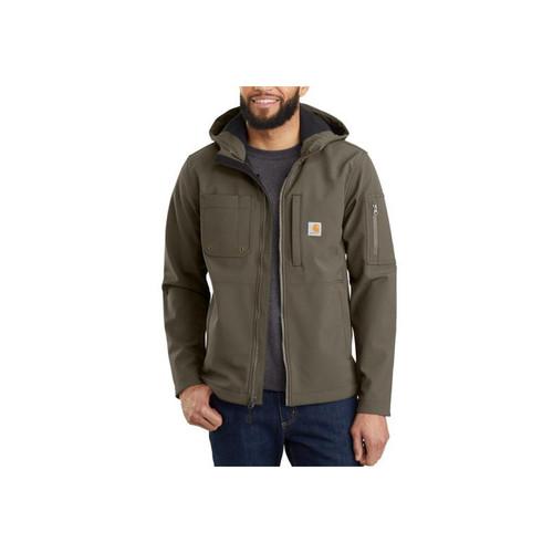 Carhartt Men's Hooded Rough Cut Jackets 103829
