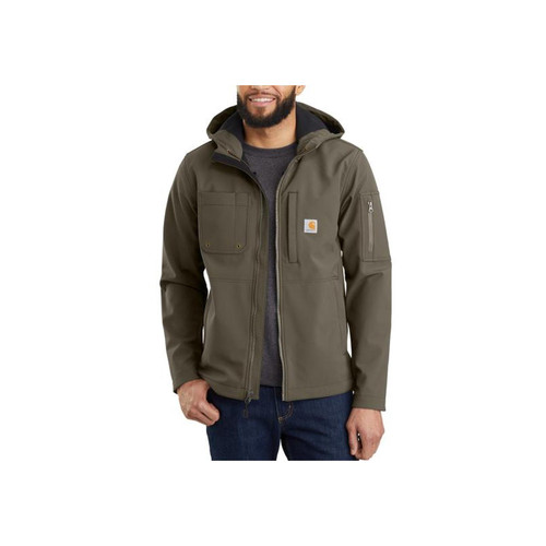 Carhartt Men's Hooded Rough Cut Jackets 103829