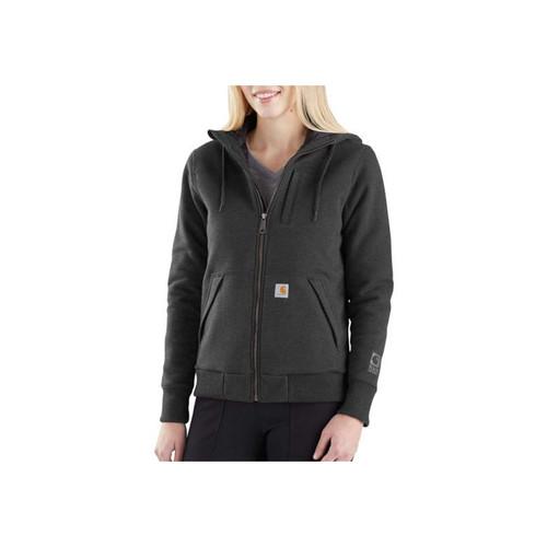 Carhartt Carhartt Women's Rain Defender Rockland Quilt Lined Zip Hooded Sweatshirts 103242