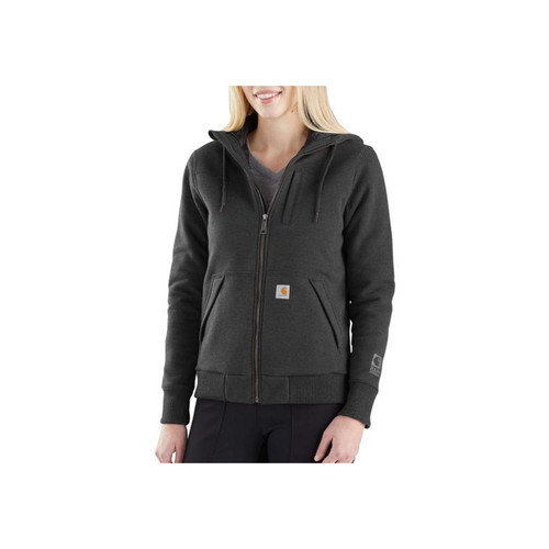 Carhartt Women's Rain Defender Rockland Quilt Lined ZH Sweatshirt 103242