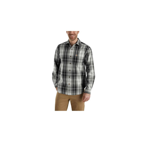 Carhartt Men's Essential Plaid Button Down Long Sleeve Shirt 103351