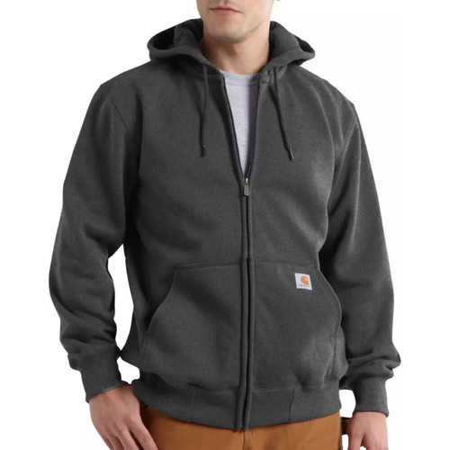 Carhartt Men's Rain Defender Paxton Heavyweight Hooded Zip-Front Sweatshirts 100614