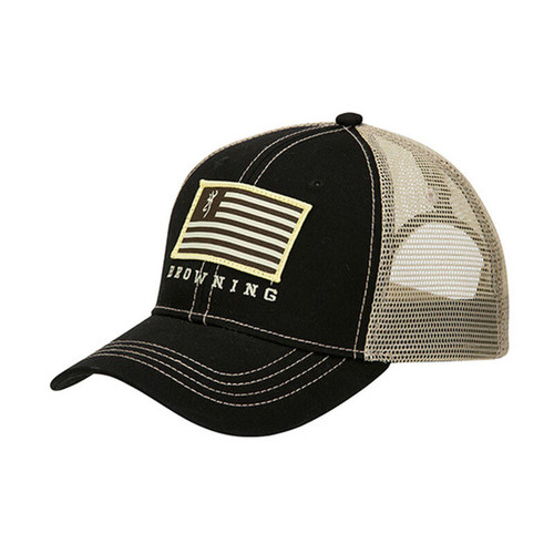 Browning Cotton Patriotic Ball Cap