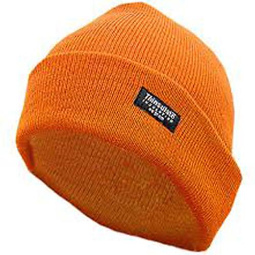 Hot Shot Insulated Cuff Cap 2-Ply One Size Blaze Orange