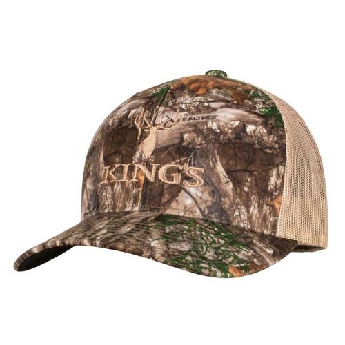 Kings Camo Trucker Hat One Size Desert Shadow