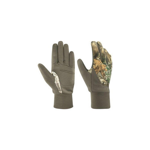 Jacob Ash Ladies Stretch Fleece Touch Gloves With Gunn-Cut Finger