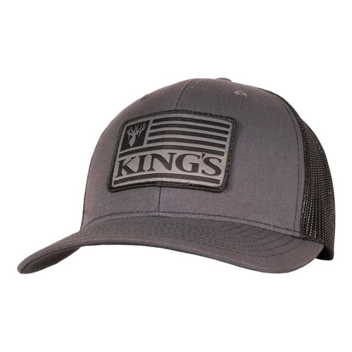 Kings Richardson Patch Hat One Size Black/Charcoal