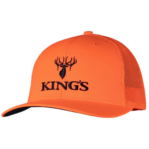 King's Camo Men's Logo Hat One Size Blaze Orange