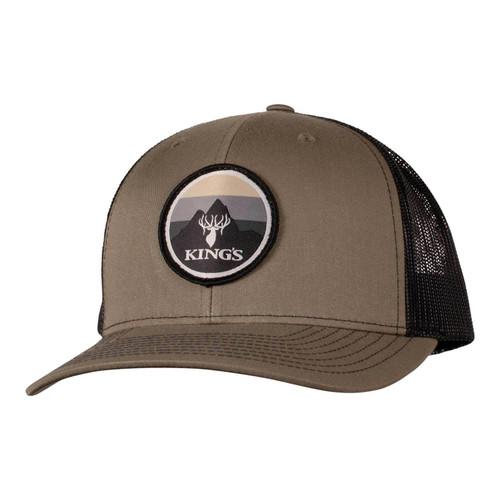 Kings Richardson Patch Hat One Size Loden/Black