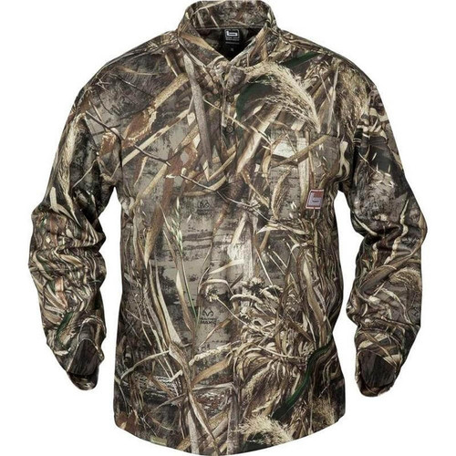 Banded Tec Fleece Henley Shirts